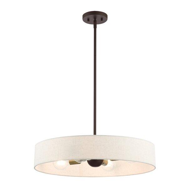Corea 4 - Light Drum Chandelier by Ebern Designs Ebern Designs