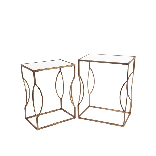 Shannon 2 Piece End Table Set by Willa Arlo Interiors