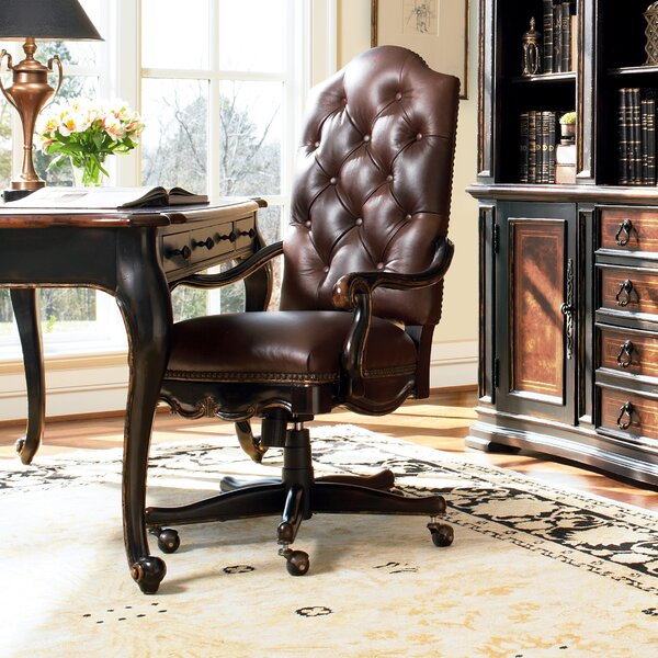 Grandover Leather Executive Chair by Hooker Furniture