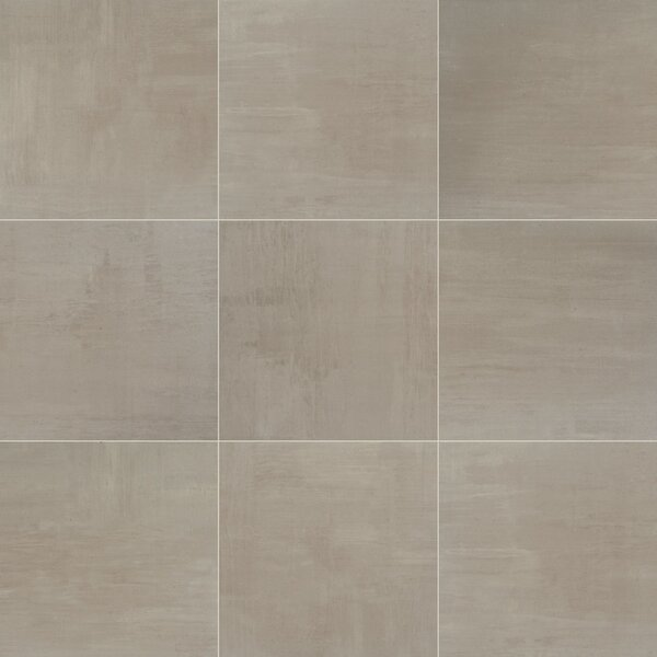 Clearview 18 x 18 Ceramic Field Tile in Brown by Itona Tile