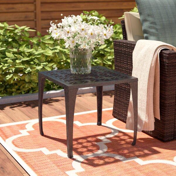 Kavanaugh Metal Side Table by Charlton Home