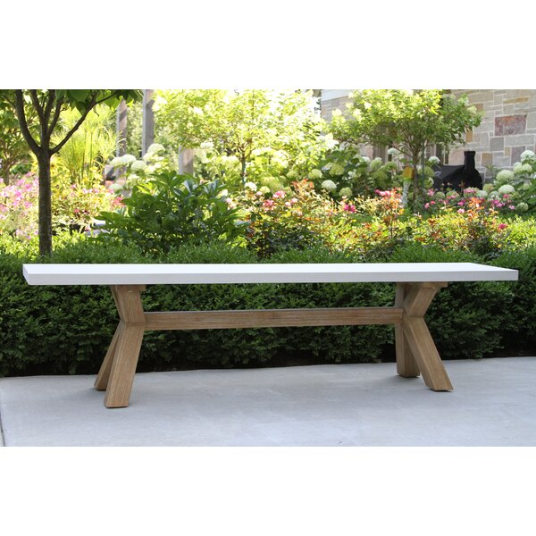 Bayswater Wooden Picnic Bench by Rosecliff Heights