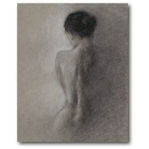 'Figure Drawing I' Painting Print on Wrapped Canvas by Courtside Market