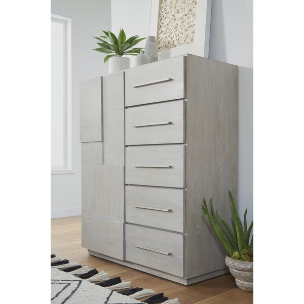 Monatuk 5 Drawers Dresser by Wrought Studio