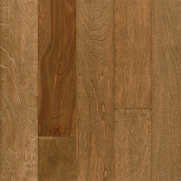 Frontier 5 Engineered Birch Hardwood Flooring in Praline by Armstrong Flooring
