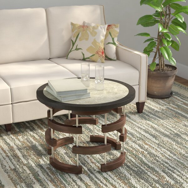 Caudell Arcs Coffee Table by Latitude Run