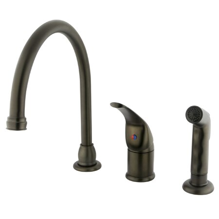 Chatham Pull Down Single Handle Kitchen Faucet by Kingston Brass