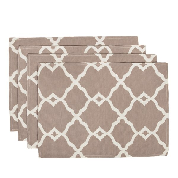 Outdoor Placemat (Set of 4) by HRH Designs