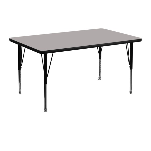 48 x 30 Rectangular Activity Table by Flash Furnit