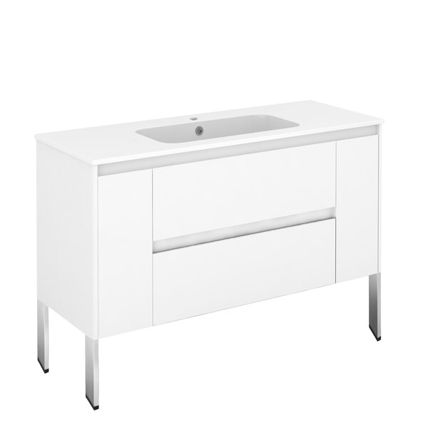 Ambra 47 Single Bathroom Vanity Set by WS Bath Collections