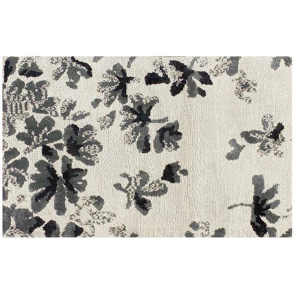 Barbagallo Petal Batik Rectangle Floral Bath Rug