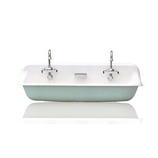 Best Brockway Metal 32 Wall Mount Bathroom Sink with Faucet By Kohler