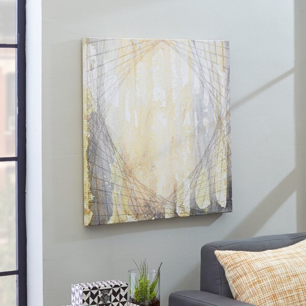 Gea Painting Print on Wrapped Canvas by Langley Street