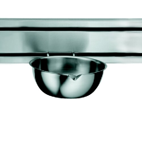 Rail System 8.5 Kitchen Bowl in Stainless Steel by Franke