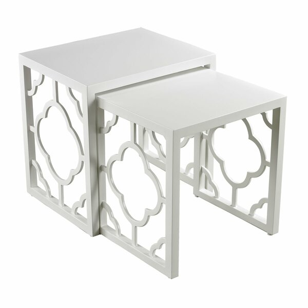 Stef Sled Nesting Tables by Everly Quinn Everly Quinn