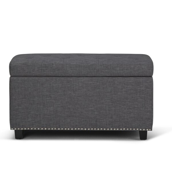 Burling Large Tufted Storage Ottoman by Charlton Home
