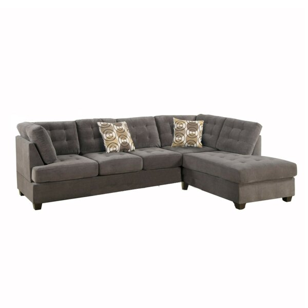 Excellent Reviews Andrae Reversible Modular Sectional by Red Barrel Studio by Red Barrel Studio