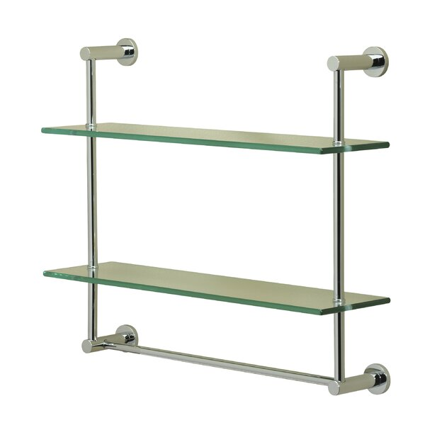Essentials 2 Tier Wall Shelf by Valsan