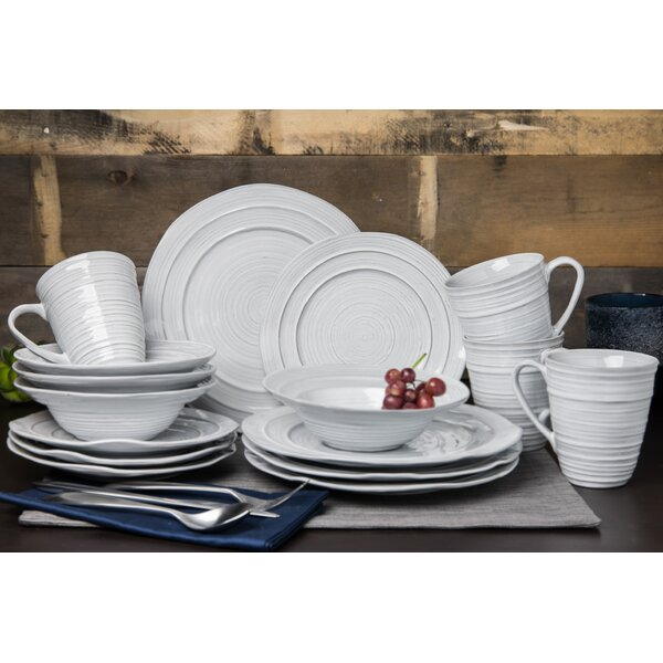 Habersham 16 Piece Dinnerware Set, Service for 4 by Ophelia & Co.