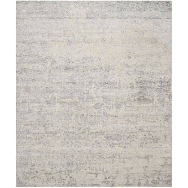 Paramkusham Hand-Knotted Wool Gray Indoor Area Rug