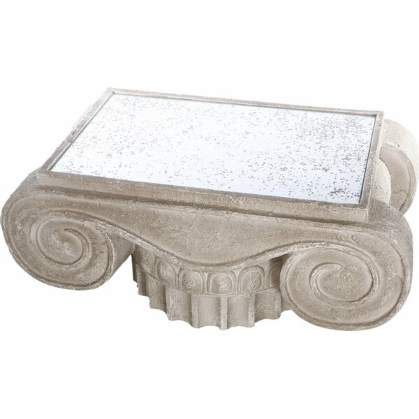 Ellicott Heavily Coffee Table by Fleur De Lis Living