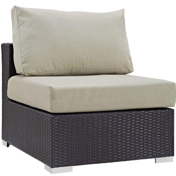 Ryele Armless Chair with Cushions by Latitude Run