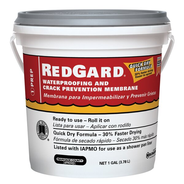 Waterproofing and Crack Prevention Membrane 1 Gallon (Set of 2) by Custom Building Products