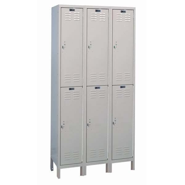 ValueMax 2 Tier 3 Wide School Locker by Hallowell