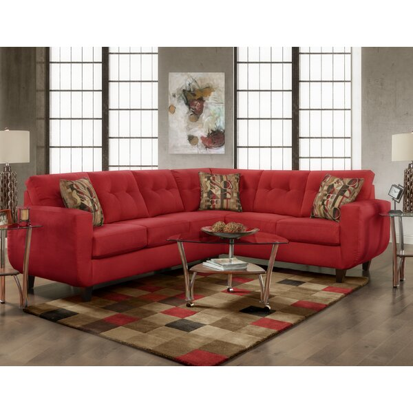 Leung Tufted Sectional by Latitude Run