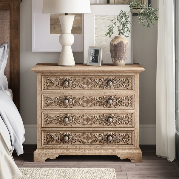 Hill Country Floresville 4 Drawer Nightstand by Hooker Furniture