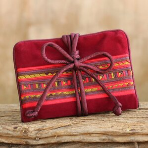 Tribal Jewelry Pouch by Novica