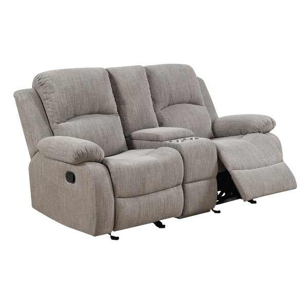 Berrios Reclining Loveseat by Winston Porter