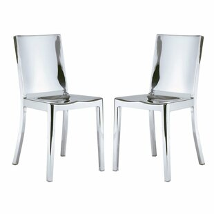 Portillo Arm Less Dining Chair (Set of 2)