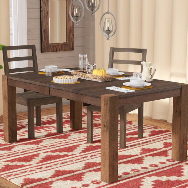 Trevion Leg Extendable Dining Table by Mistana