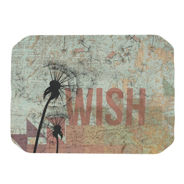 Wish Placemat by KESS InHouse