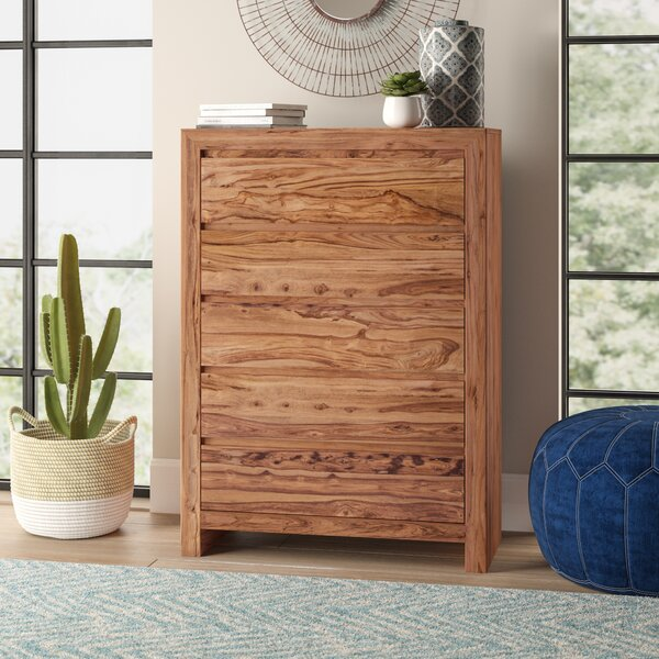 Allegro Tall 5 Drawer Chest by Mistana