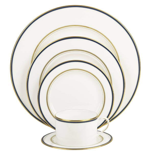 Library Lane Bone China 5 Piece Place Setting, Service for 1 by kate spade new york