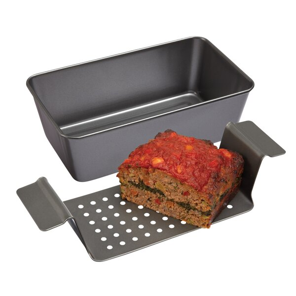 Non-Stick Healthy Meatloaf Baker by Chicago Metallic