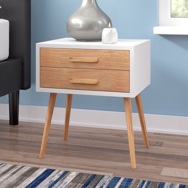 Hattie 2 Drawer Nightstand by Modern Rustic Interiors
