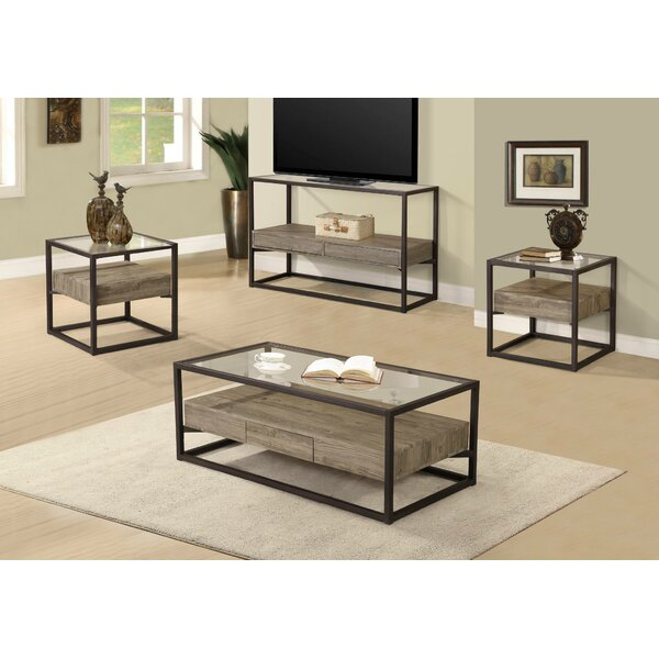 Standwood 3 Piece Coffee Table Set by Union Rustic