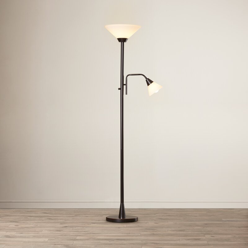Theodore 72 torchiere floor lamp