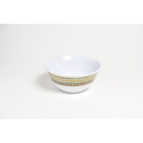 Yacht and Home 20 oz. Trout Melamine Non-Skid Soup/Cereal Bowl (Set of 6) by Galleyware Company