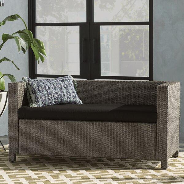 Hinkson Indoor/Outdoor Sunbrella Bench Cushion by Brayden Studio