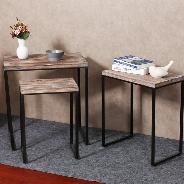 Shonnard 3 Piece Nesting Tables by Ivy Bronx