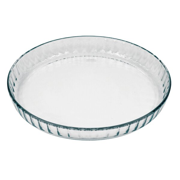 Flan/Quiche Fluted Dish by Marinex