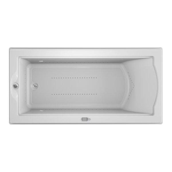Fuzion Chroma LCD Left-Hand 72 x 36 Drop-In Pure Air Bathtub by Jacuzzi®