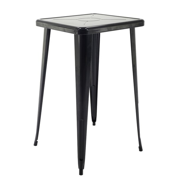 Felker Indoor and Outdoor Rust-Resistant Metal Bar-Height Dining Table by Ivy Bronx