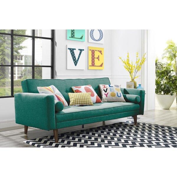 Novogratz Vintage Mix Convertible Sofa By Novogratz by Novogratz Modern