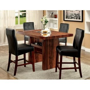 Carroll 5 Piece Counter Height Pub Table Set By Hokku Designs