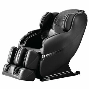 Faux Leather Massage Chair by Symple S..
